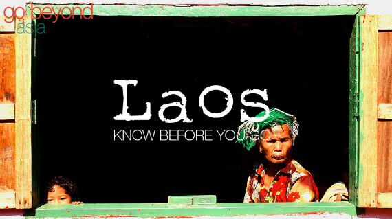 Know before you go - Laos