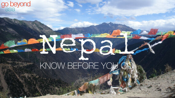 Know before you go - Nepal