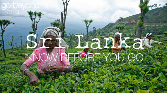 Know before you go - SriLanka