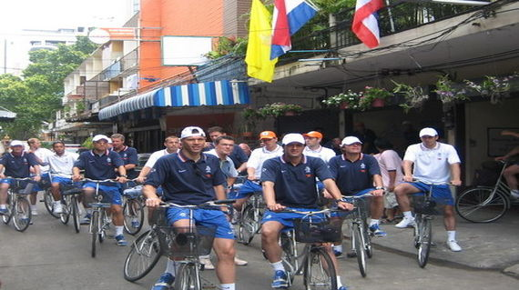 Cycling in Bangkok